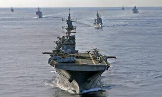 Αεροπλανοφόρο των ΗΠΑ, φρεγάτες και πεζοναύτες στην Κυπριακή ΑΟΖ