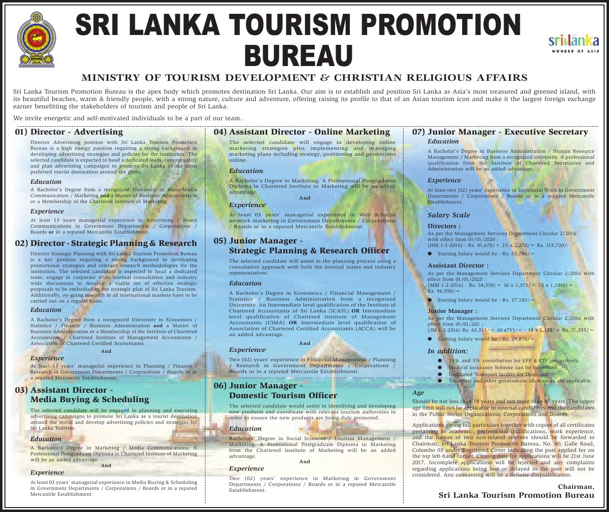 tourism promotion Ministry of information, culture and tourism is inviting government and private organisations,  (laos-thai relationship) date: 13 th - 16 th april 2018.