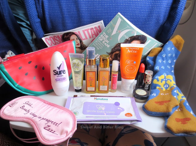 My In-Flight Essentials || Skincare, Makeup, Etc