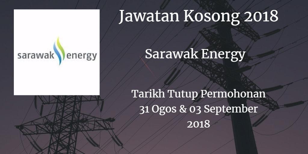 Jawatan Kosong Sarawak Energy 31 Ogos & 03 September 2018