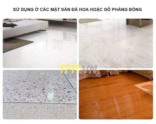 Mặt sàn thích hợp cho dụng cụ tập gym tại nhà