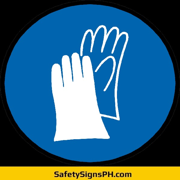 Hand Protection Symbol Sign Philippines