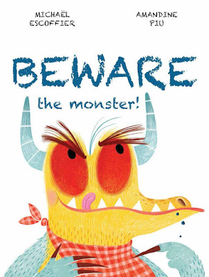 Beware the Monster! will be an instant favorite! A very hungry monster starts eating everything in sight: apples, leaves, trees, and where did those cows go? The reader is warned to hide, but the monster sees you and the monster walks closer and closer to you on the page with a hungry look in his eyes. How can you, the reader, stay safe from this hungry monster?
