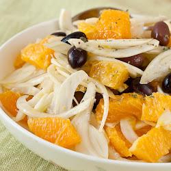 Sicilijanska salata sa moračem i narandžama