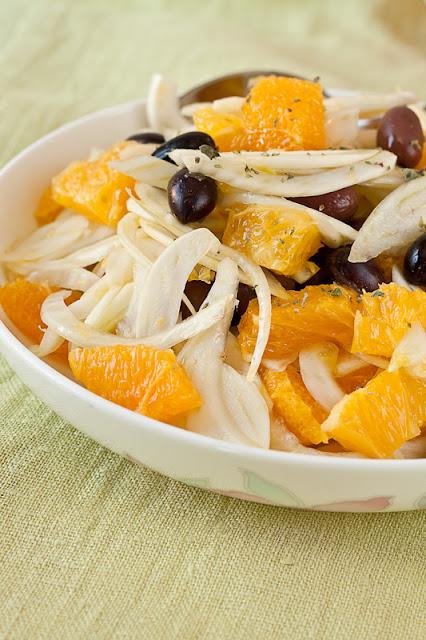 Sicilijanska salata od morača i narandži