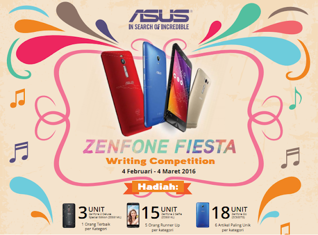 Zenfone Fiesta Writing Competition