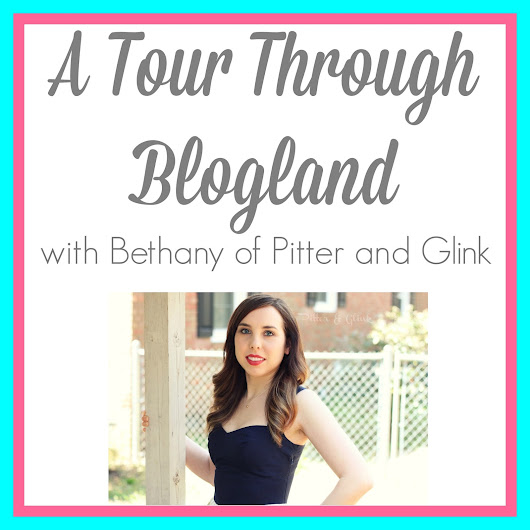 {A Tour Through Blogland with Pitter and Glink}