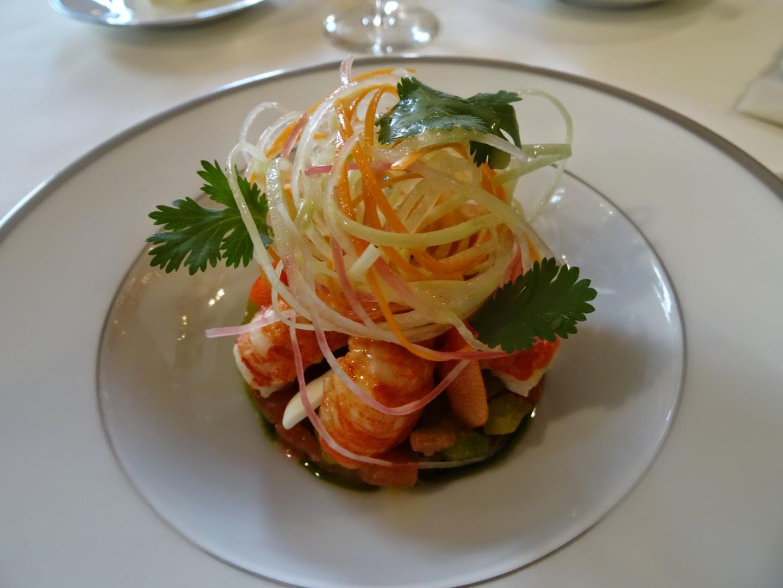 Entrée restaurant l'Ambroisie Paris 4 ème.