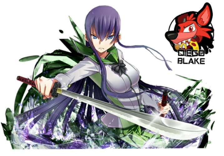 Render Saeko busujima + High School of the dead