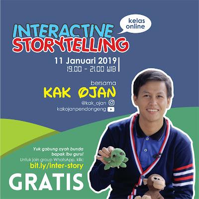 Kelas Online: Interactive Storytelling