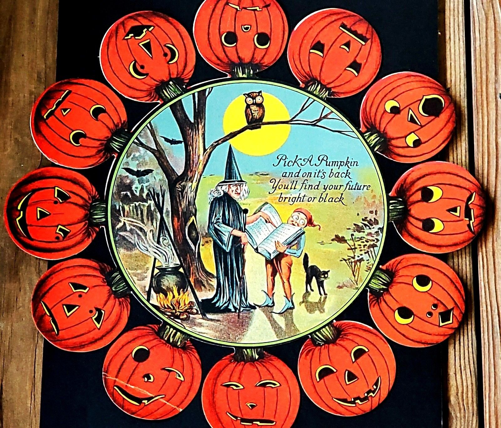 vintage halloween game at ebay
