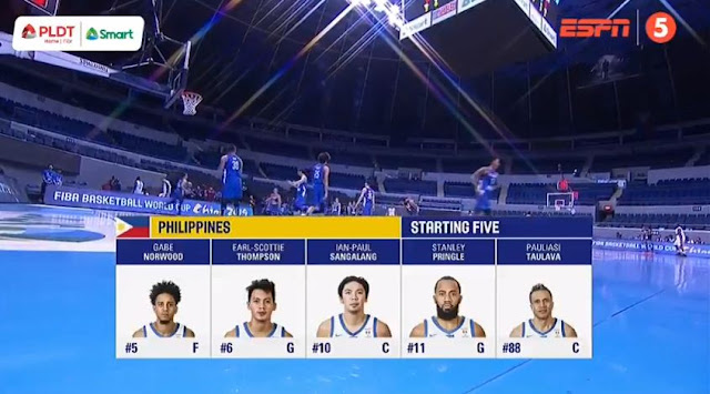 Live Streaming List: Gilas Pilipinas vs Qatar 2019 FIBA World Cup Qualifiers Asia