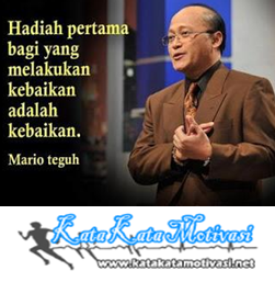 Kata Kata Motivasi Bijak Mario Teguh