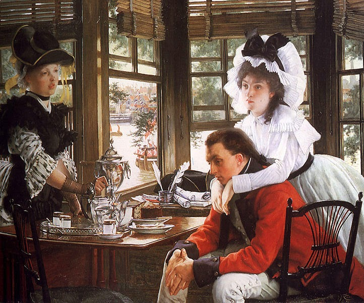 Má Notícia - As principais pinturas de James Tissot ~ Francês