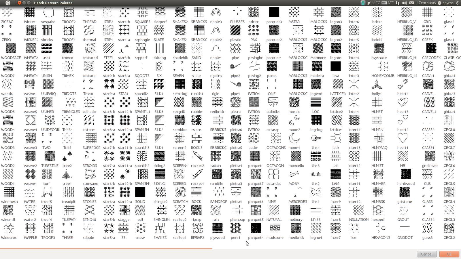 Standard Hatch Patterns Autocaddownload Free Software