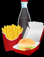 Jedzenie McDonald's.