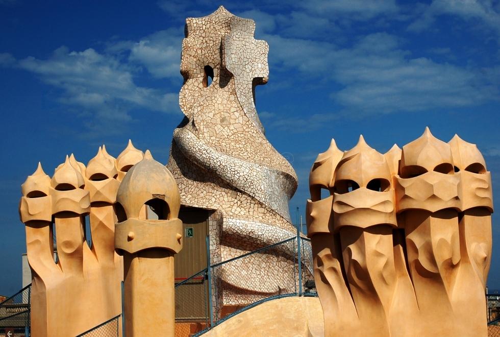 Alentours Barcelone La Pedrera de Gaud Barcelone