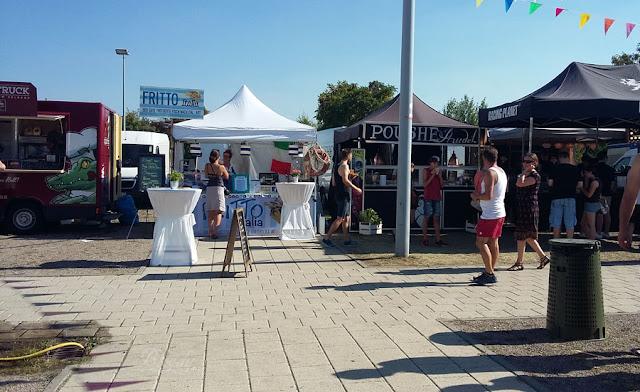 Street Food Festival Erfurt 2016 - Diverse Food Trucks und Stände