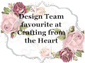 design team fav at Crafting from the heart