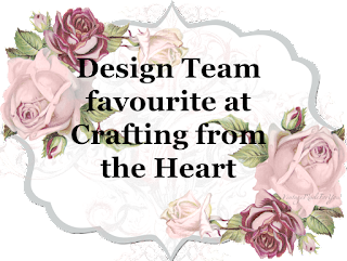 Design Team favourite at Crafting from the Heart