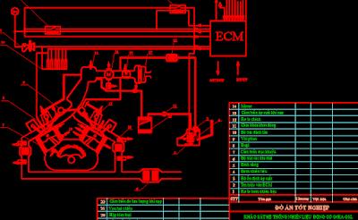 Khảo sát hệ thống nhiên liệu động cơ G6EAGSL2.7