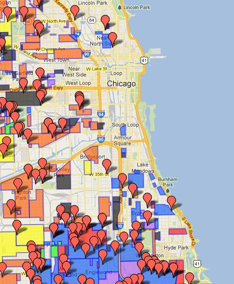 Sloopin - A South Loop Blog: Interactive Chicago Gang Map ...