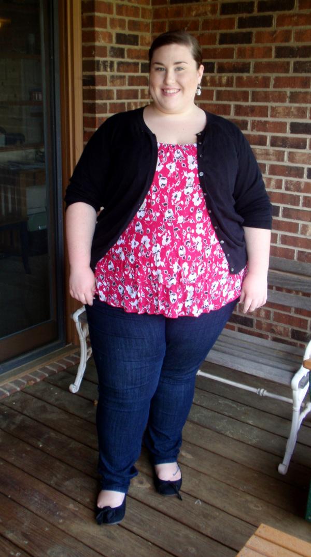 Fat lady on petite 13