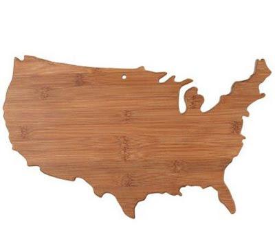 United States of America Cutting Board