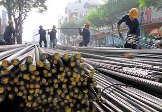 Chi hơn 10 tỷ USD để nhập khẩu sắt thép