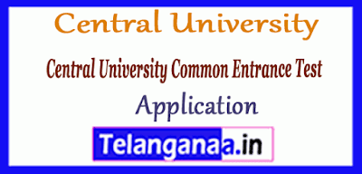 Central University Common Entrance Test 2019 Application Syllabus