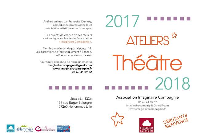 Ateliers d'expression théâtrale - saison 2017/2018
