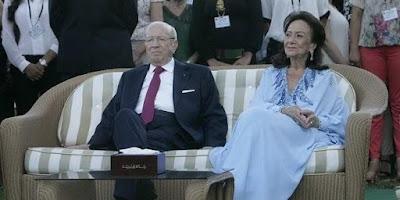 ارملة الرئيس التونسى, تونس, الباجى قايد السبسى,