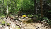 Off-road four-wheeling near Pigeon Forge