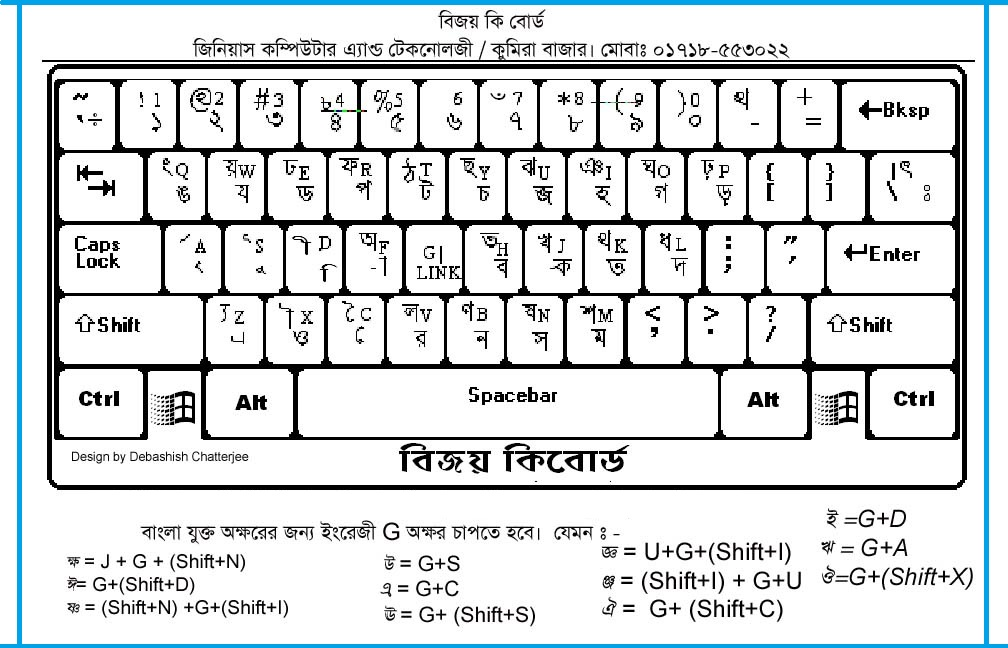 bijoy bangla keyboard for windows 10 free download