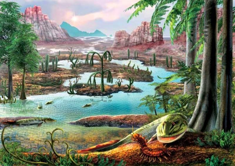 Período Devoniano (408 milhões de anos)