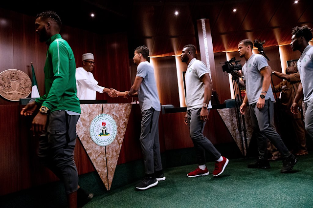 AFCON 2019: Buhari Hails Super Eagles