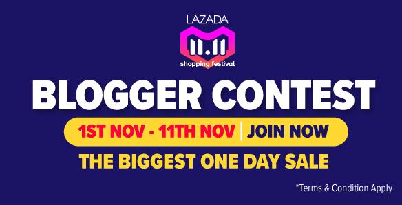 Lazada 11.11 Blogger Contest