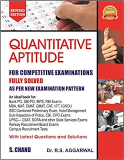 DOWNLOAD RS AGGARWAL QUANTITATIVE APTITUDE PDF