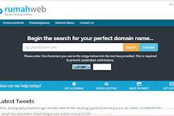 Cara Custom Domain Blogspot di Rumah web com