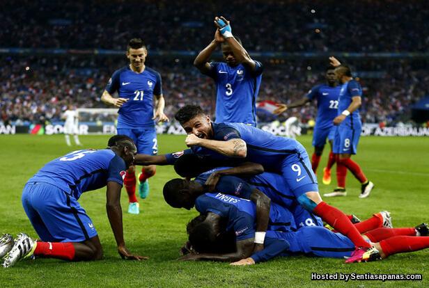 Perancis vs Iceland
