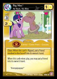 My Little Pony Big Mac, All Bark, No Bite Absolute Discord CCG Card