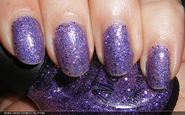 xoxoJen's swatch of Nicole by OPI One Less Lonely Glitter