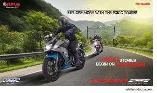 Yamaha India Merilis Fazer 25