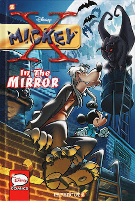 "Cover of Papercutz' ""X-Mickey: Inside the Mirror"""
