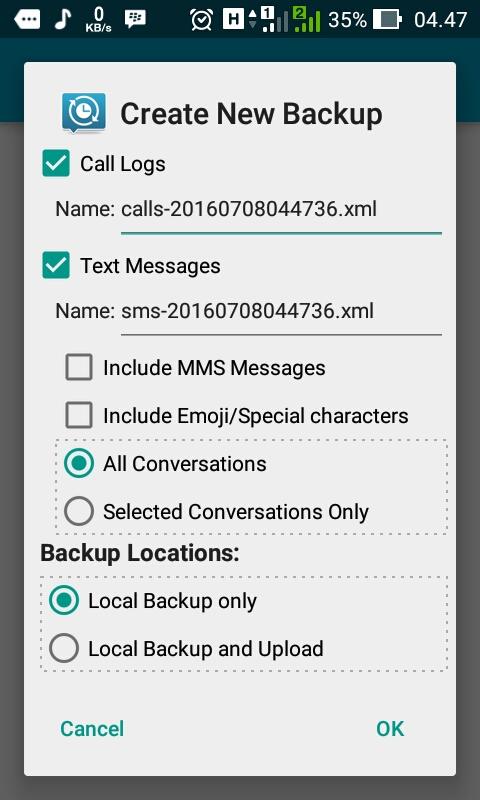 Cara Gampang Backup dan Restore SMS di Android