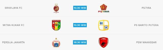 Jadwal Liga 1 Jumat  6 Juli 2018 - Siaran Langsung Indosiar