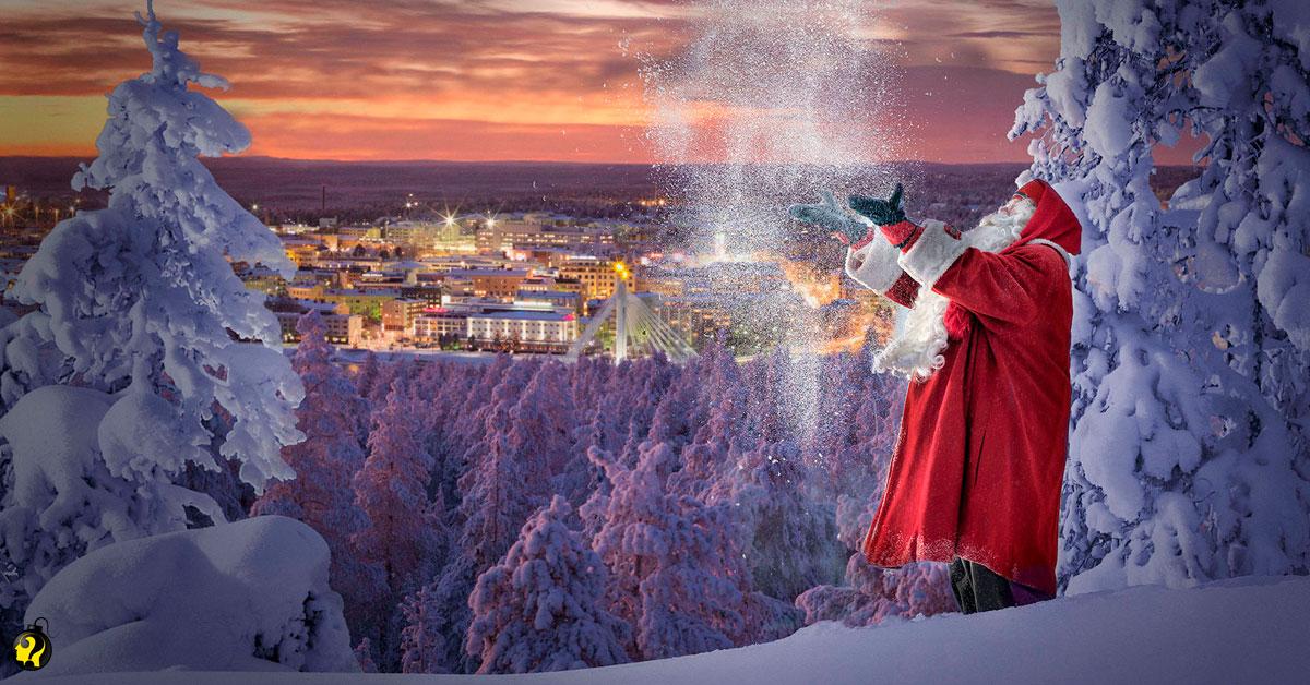 O verdadeiro Papai Noel existe e o endereço foi descoberto: Rovaniemi!