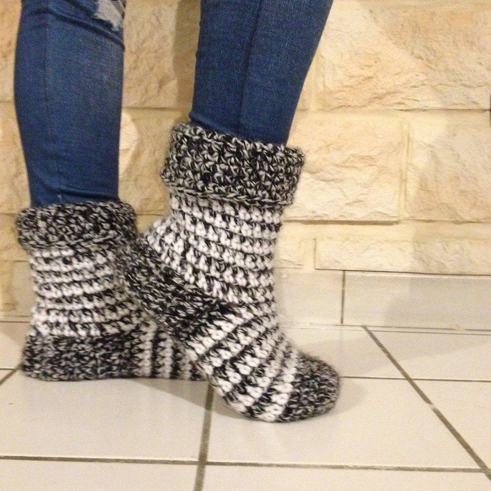 du fil et des aiguilles chaussettes faciles pour l 39 hiver. Black Bedroom Furniture Sets. Home Design Ideas