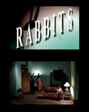 póster de Rabbits, película de David Lynch