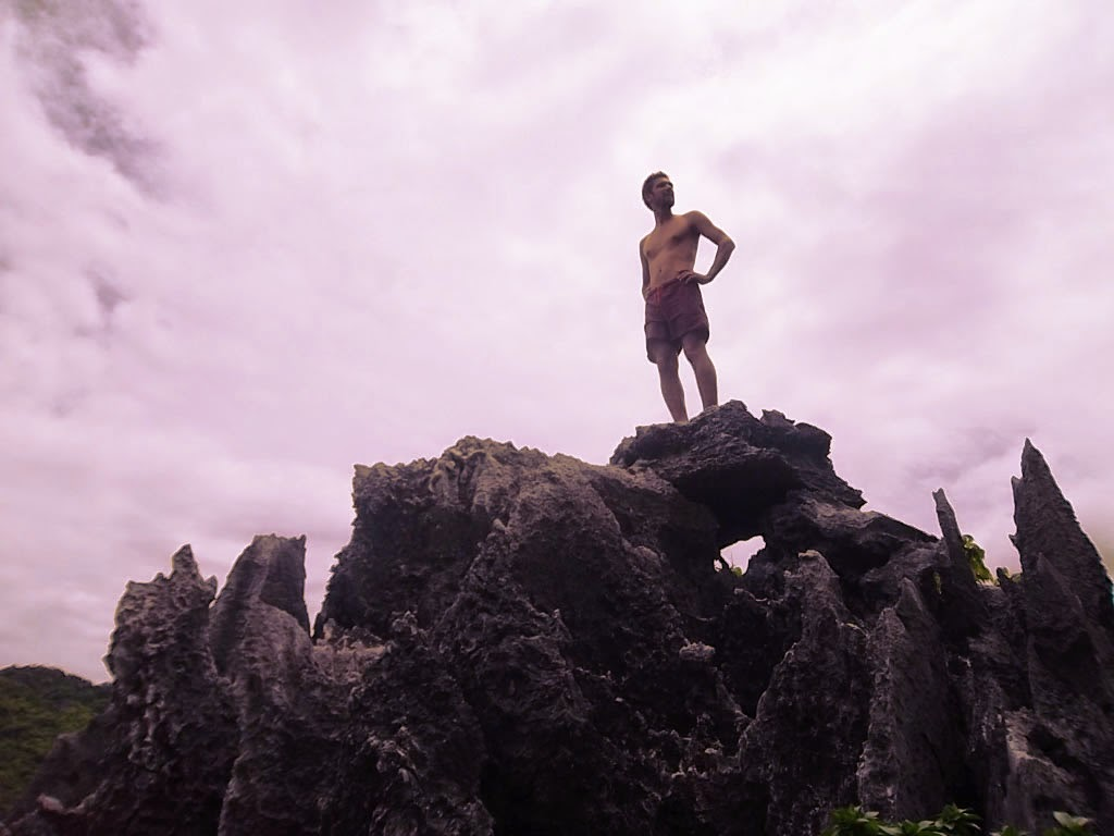 the monkey man at El Nido